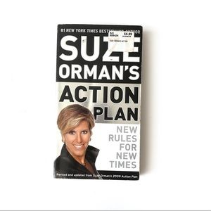 Suze Orman's Action Plan Paperback Finance Book